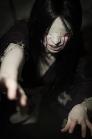 Blinded from Fatal Frame worn by feytaline
