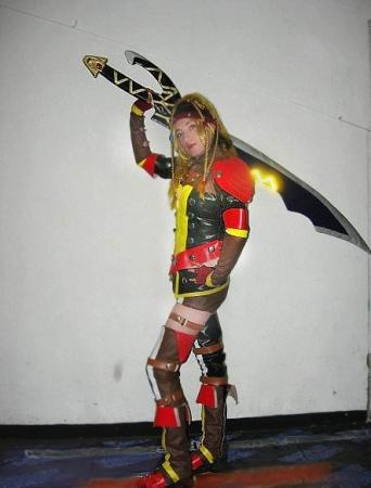 Rikku from Final Fantasy X-2 worn by Sakuranne