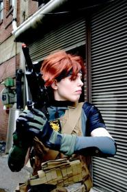 Meryl Silverburgh from Metal Gear Solid 4: Guns of the Patriots worn by mirrorsabersavern