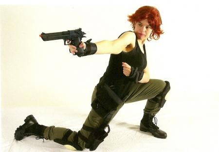 Meryl Silverburgh from Metal Gear Solid worn by mirrorsabersavern
