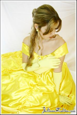 Belle from Kingdom Hearts worn by Ju Tsukino