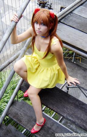 Asuka Langley Sohryu from Neon Genesis Evangelion worn by Ju Tsukino