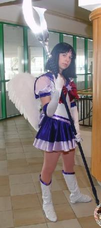 Sailor Saturn from Sailor Moon S worn by Taru-chan