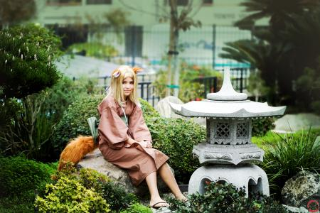 Fox from Natsume Yuujinchou worn by Luna