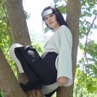 Neji Hyuuga from Naruto