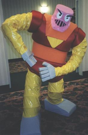 Boss Borot from Mazinger Z worn by Tikki