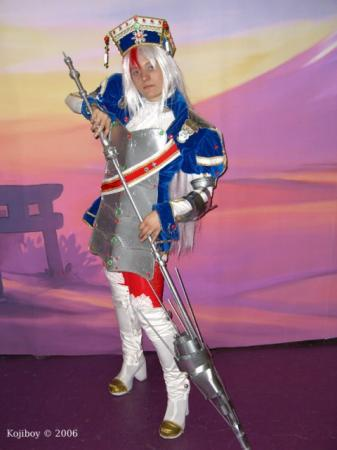 Astharoshe Asran from Trinity Blood worn by Ichigo