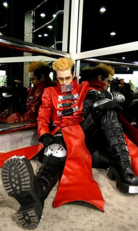 Vash The Stampede from Trigun Maximum worn by Stripper Vash