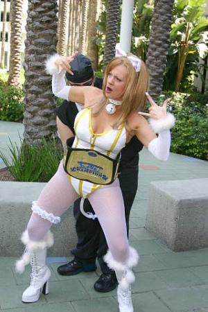 Tina Armstrong from Dead or Alive Ultimate