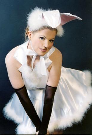 Disco Bunny from Takarazuka: Blue Moon Blue worn by Tristen Citrine