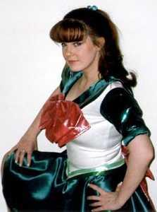 Sailor Jupiter from Sailor Moon worn by Tristen Citrine