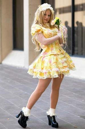 Citrus Lolita from Original: Lolita worn by Tristen Citrine