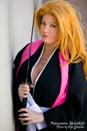 Rangiku Matsumoto from Bleach worn by Tristen Citrine