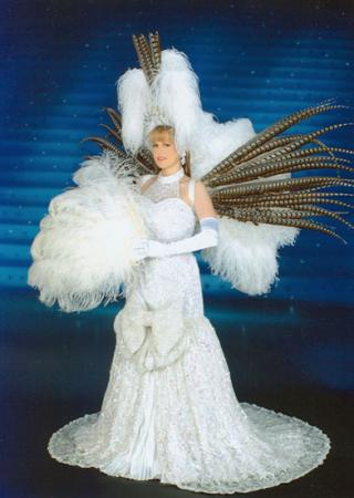 Salon de Takarazuka Fangirl from Takarazuka worn by Tristen Citrine