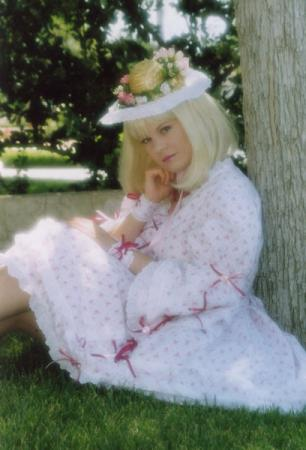 Pink and White Lolita from Original: Lolita worn by Tristen Citrine
