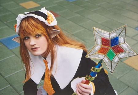 Star Mage from Disgaea worn by Tristen Citrine