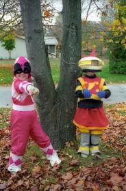 Pink Ranger from Mighty Morphin' Power Rangers worn by ksmurf