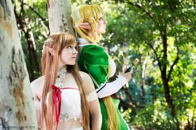 Leafa from Sword Art Online worn by Etaru Kaumoto