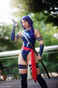 Psylocke from Marvel Comics worn by Etaru Kaumoto