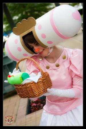 Queen of the Cosmos from Katamari Damacy worn by TR Rose