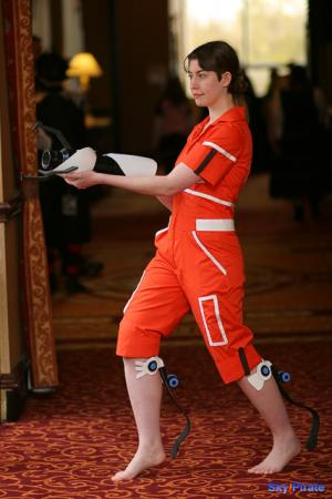 Chell from Portal worn by TR Rose