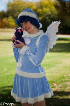 Sailor Mercury from Sailor Moon worn by TR Rose