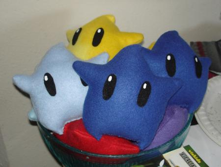 Lumas from Super Mario Galaxy worn by TR Rose