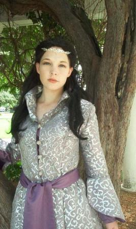 Arwen Undomiel from Lord of the Rings worn by Ashley