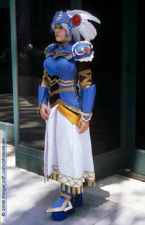 Lenneth Valkyrie from Valkyrie Profile worn by Ashley