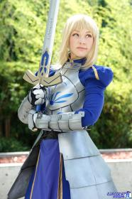Saber from Fate/Zero worn by Ashley