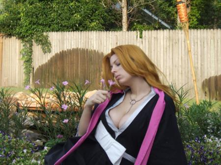 Rangiku Matsumoto from Bleach worn by Hooded Woman
