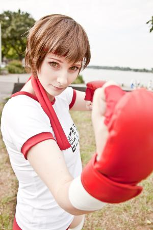 Sakura Kasugano from Street Fighter IV
