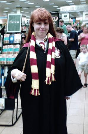 Ginny Weasley from Harry Potter worn by Mary Ryan Bogard