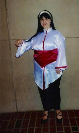 Chizuru Kagura from King of Fighters 1996