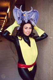 Kitty Pryde from X-Men worn by Wisteria Wings