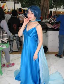 Princess Mercury from Sailor Moon worn by Wisteria Wings