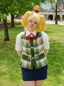 Isabelle from Animal Crossing by Kuriisu