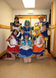 Sailor Mercury from Sailor Moon Seramyu Musicals worn by Yunie-chan