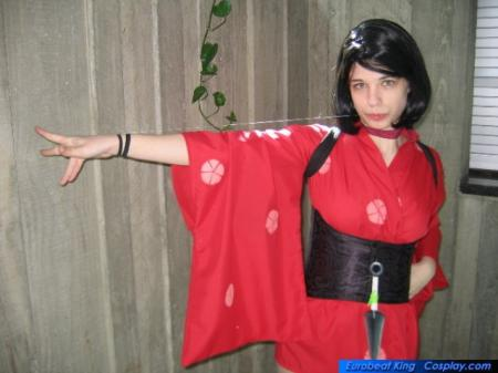 Kurenai from Red Ninja: End of  Honor worn by Anza