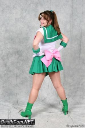 Sailor Jupiter from Sailor Moon worn by Alkrea