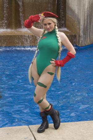 Cammy from Street Fighter IV worn by Alkrea