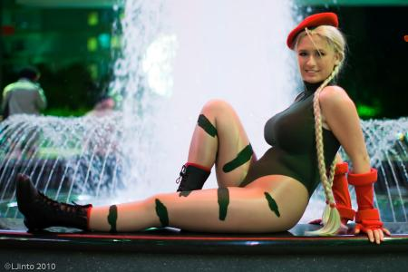 Cammy White from Street Fighter II worn by Alkrea