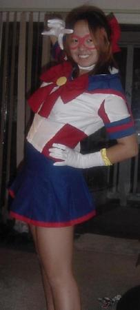 Sailor V from Sailor Moon worn by Carolina