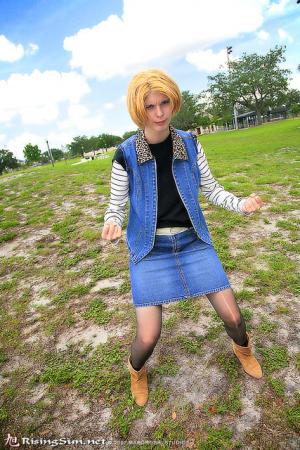 Android #18 from Dragonball Z worn by Kichara