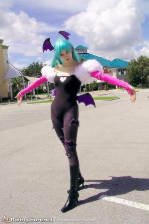 Morrigan Aensland from Darkstalkers worn by Kichara