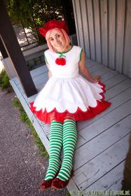 Cherry Cuddler from Strawberry Shortcake worn by Jayuna