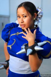Chun Li from Street Fighter II worn by LauraC