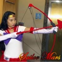 Sailor Mars from Sailor Moon worn by LauraC
