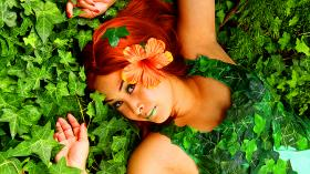 Poison Ivy from DC Comics worn by LauraC