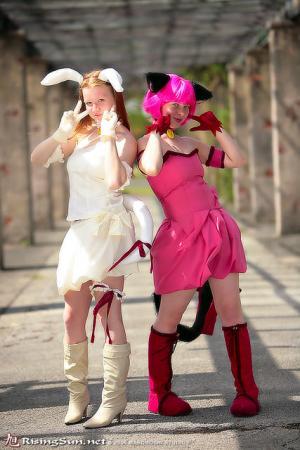 Ichigo Momomiya / Mew Strawberry from Tokyo Mew Mew worn by Dandelionswish